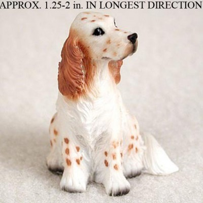 English-Setter-Mini-Resin-Hand-Painted-Dog-Figurine-Ora-180675949672