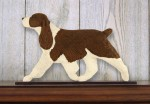 English-Springer-Spaniel-Dog-Figurine-Sign-Plaque-Display-Wall-Decoration-Liver-400721994530