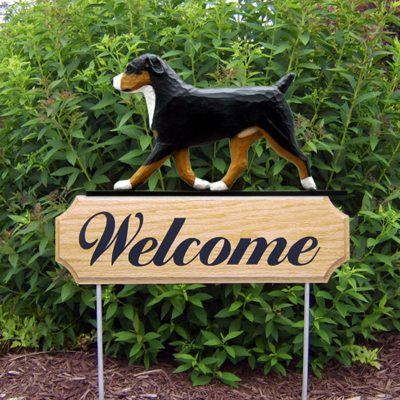 Entlebucher-Dog-Breed-Oak-Wood-Welcome-Outdoor-Yard-Sign-400706795506