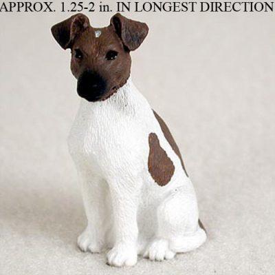 Fox-Terrier-Mini-Resin-Hand-Painted-Dog-Figurine-BrownWhite-400249711283