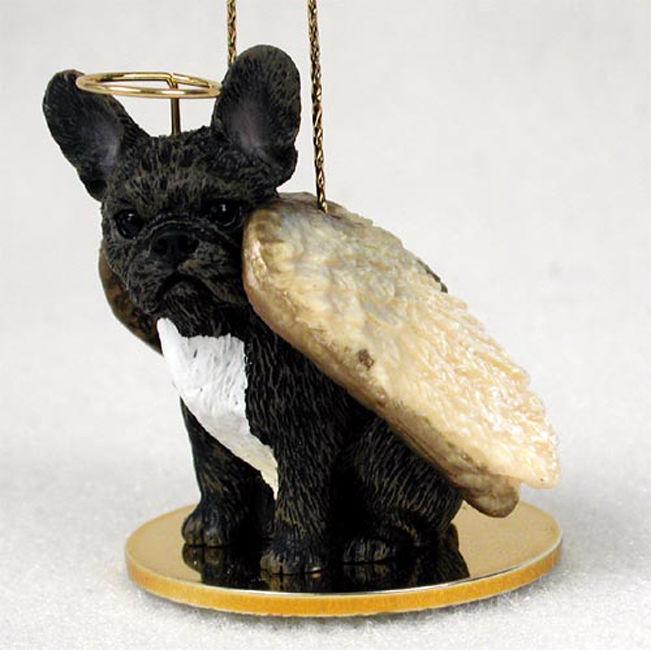 French bulldog dog figurine ornament angel statue hand painted ebay