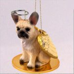 French-Bulldog-Dog-Figurine-Ornament-Angel-Statue-Hand-Painted-Fawn-400333031846