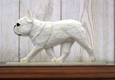French-Bulldog-Figurine-Sign-Plaque-Display-Wall-Decoration-Cream-181430784348