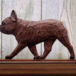 French-Bulldog-Figurine-Sign-Plaque-Display-Wall-Decoration-Red-Brindle-400721997730