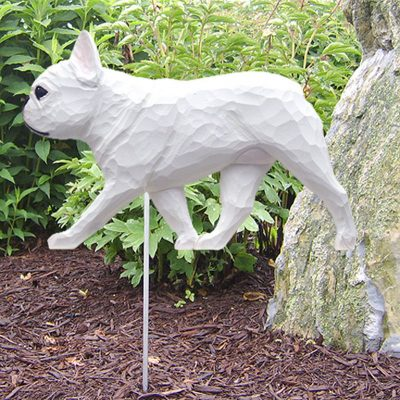 French-Bulldog-Outdoor-Garden-Dog-Sign-Hand-Painted-Figure-White-400688307177