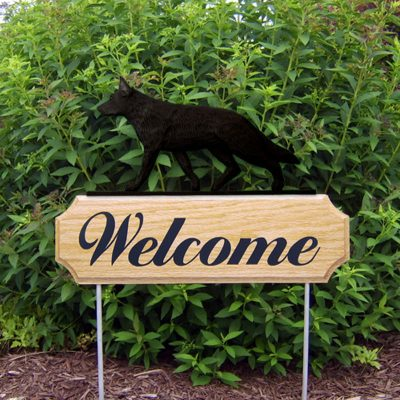 German-Shepherd-Dog-Breed-Oak-Wood-Welcome-Outdoor-Yard-Sign-Black-400706797602