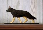 German-Shepherd-Dog-Figurine-Sign-Plaque-Display-Wall-Decoration-Black-w-Tan-Po-181430787464