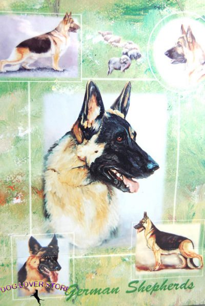 German Shepherd Gift Wrapping Paper