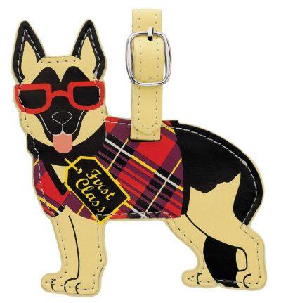 German-Shepherd-Dog-Luggage-Briefcase-Gym-Backpack-Travel-ID-Tag-400760709959