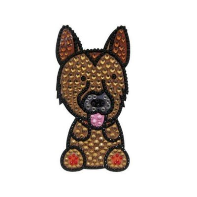 German-Shepherd-Dog-Rhinestone-Glitter-Jewel-Phone-Ipod-Iphone-Sticker-Decal-400557881771
