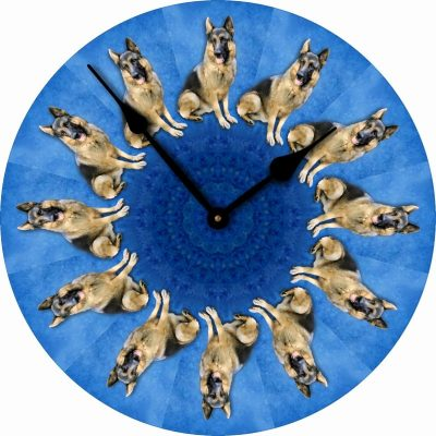 German-Shepherd-Dog-Wall-Clock-10-Round-Wood-Made-in-USA-181405030400