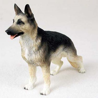 German-Shepherd-Hand-Painted-Collectible-Dog-Figurine-Statue-400263319780