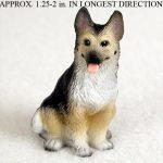 German-Shepherd-Mini-Resin-Dog-Figurine-Statue-Hand-Painted-400205070309