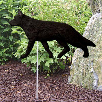 German-Shepherd-Outdoor-Garden-Dog-Sign-Hand-Painted-Figure-Black-400688307334