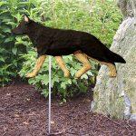 German-Shepherd-Outdoor-Garden-Dog-Sign-Hand-Painted-Figure-Black-w-Tan-Points-181369665860