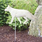 German-Shepherd-Outdoor-Garden-Dog-Sign-Hand-Painted-Figure-White-181369666510