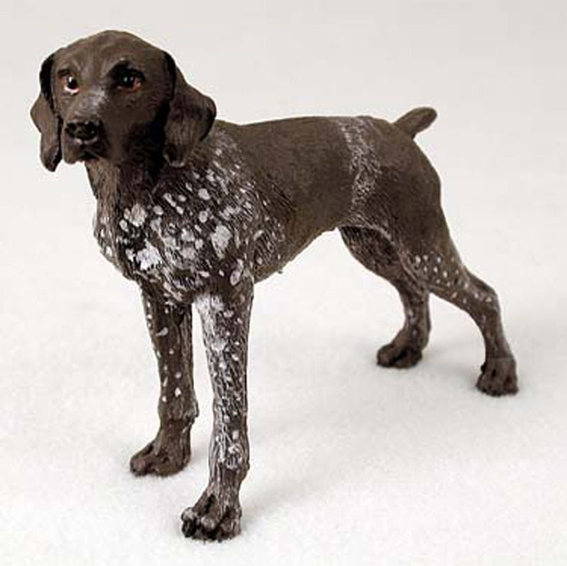 ... -Shorthair-Pointer-Hand-Painted-Collectible-Dog-Figurine-181134291323