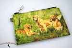Golden-Retriever-Dog-Bag-Zippered-Pouch-Travel-Makeup-Coin-Purse-181401629315