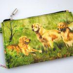 Golden-Retriever-Dog-Bag-Zippered-Pouch-Travel-Makeup-Coin-Purse-181401629315