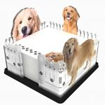 Golden-Retriever-Dog-Breed-Acrylic-Note-Holder-Memo-Note-Pad-Made-in-USA-181178655405