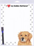 Golden-Retriever-Dog-Memo-Board-Notepad-Magnetic-Sign-8x10-400333781705