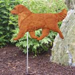 Golden-Retriever-Outdoor-Garden-Dog-Sign-Hand-Painted-Figure-Dark-181369666816
