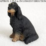 Gordon-Setter-Mini-Resin-Dog-Figurine-Statue-Hand-Painted-400322897920