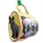 Great-Dane-Dog-Christmas-Holiday-Teacup-Ornament-Figurine-Black-180738063332