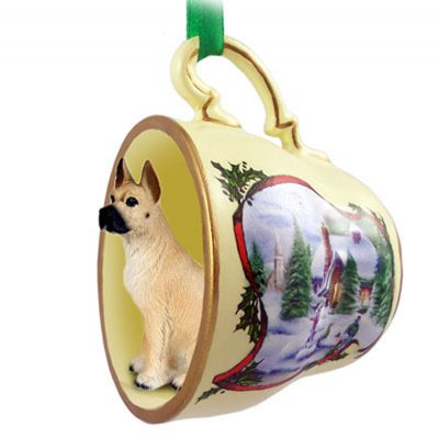 Great-Dane-Dog-Christmas-Holiday-Teacup-Sleigh-Ornament-Figurine-Fawn-400326241193