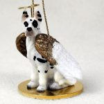 Great-Dane-Dog-Figurine-Angel-Statue-Hand-Painted-Harlequin-400219963659