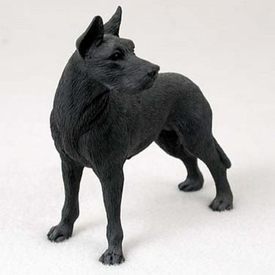 Great-Dane-Hand-Painted-Dog-Figurine-Statue-Black-400201747287