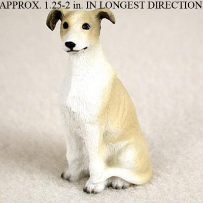 Greyhound-Collectible-Mini-Resin-Hand-Painted-Dog-Figurine-Tan-180856001418