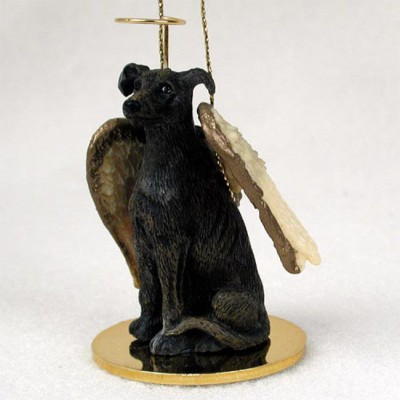 Greyhound-Dog-Figurine-Angel-Statue-Hand-Painted-Brindle-400201487300