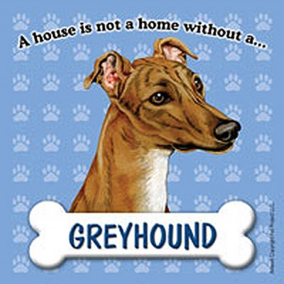 Greyhound-Dog-Magnet-Sign-House-Is-Not-A-Home-180714370353