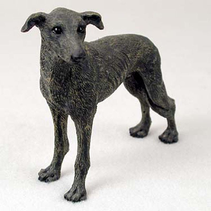Greyhound-Hand-Painted-Collectible-Dog-Figurine-Statue-Brindle ...