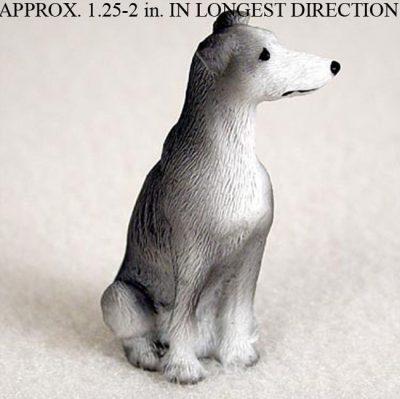 Greyhound-Mini-Resin-Dog-Figurine-Gray-180644348093