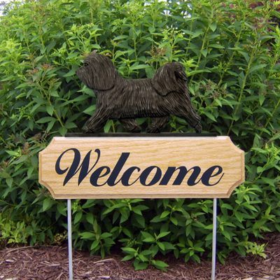 Havanese-Dog-Breed-Oak-Wood-Welcome-Outdoor-Yard-Sign-Dark-Grey-400706799069