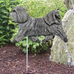 Havanese-Outdoor-Garden-Dog-Sign-Hand-Painted-Figure-Light-Grey-181369668218