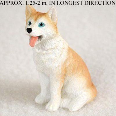 Husky-Mini-Resin-Dog-Figurine-Statue-Hand-Painted-RedWhite-Blue-Eyed-181410121242