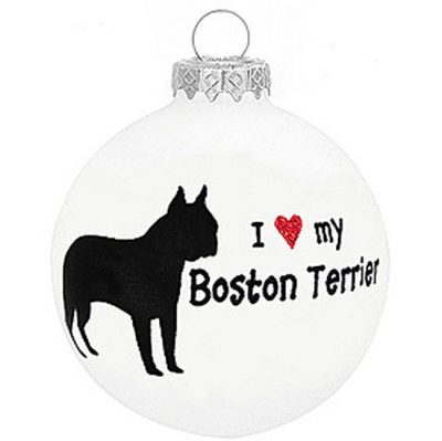 I-Love-My-Boston-Dog-Ornament-Christmas-Holiday-Glass-Personalized-Custom-180733793712