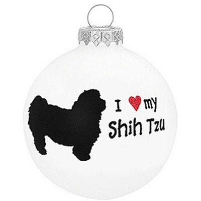 I-Love-My-Shih-Tzu-Dog-Ornament-Christmas-Holiday-Glass-Personalized-Custom-180733794050