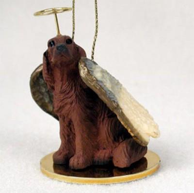 Irish-Setter-Dog-Figurine-Angel-Statue-Ornament-400482562821