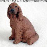 Irish-Setter-Mini-Resin-Hand-Painted-Dog-Figurine-Statue-400759523490