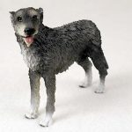 Irish-Wolfhound-Hand-Painted-Collectible-Dog-Figurine-400709824031