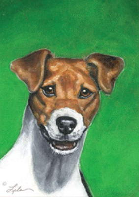 Jack-Russell-Dog-Air-Freshener-Vanilla-Citrus-Fresh-Linen-Scent-400587079129