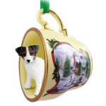 Jack-Russell-Dog-Christmas-Holiday-Teacup-Ornament-Figurine-BrnWht-Rough-400619382172
