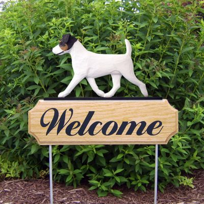 Jack-Russell-Terrier-Dog-Breed-Oak-Wood-Welcome-Outdoor-Yard-Sign-Tri-181404190041