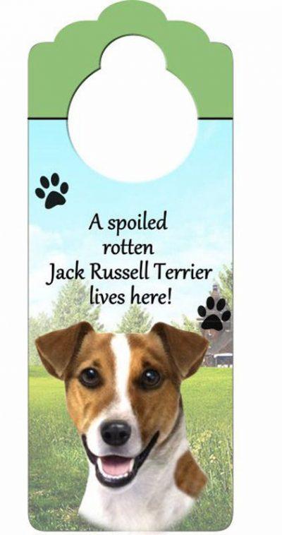 Jack-Russell-Terrier-Dog-Door-Knob-Handle-Hanger-Sign-Spoiled-Rotten-1025-x-4-181160022752