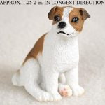 Jack-Russell-Terrier-Mini-Resin-Hand-Painted-Dog-Figurine-Statue-BrwnWht-Smooth-400249634953