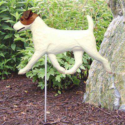 Jack-Russell-Terrier-Outdoor-Garden-Dog-Sign-Hand-Painted-Figure-BrownWhite-181369669102